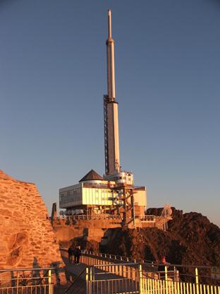 Projet de création d'une RICE (Réserve Internationale de Ciel Etoilé) au  Pic du Midi de Bigorre