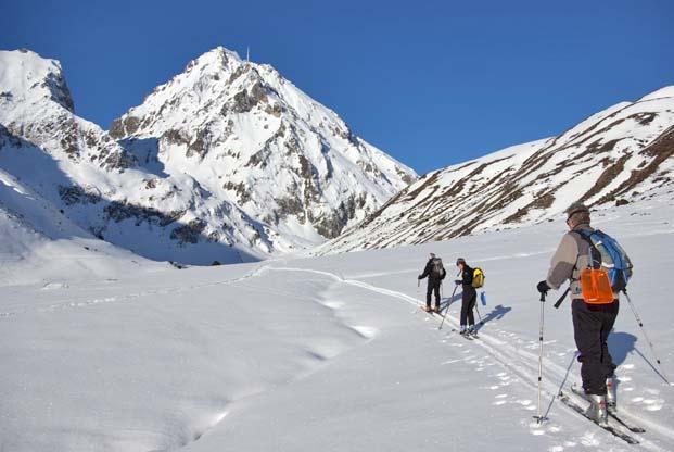 L'entrée en fanfare du ski dans les Pyrénées