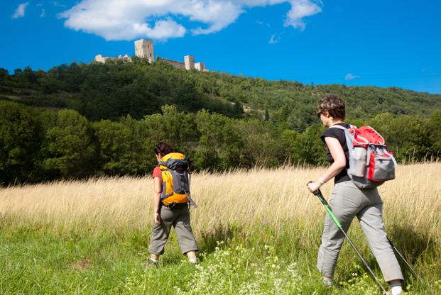 Randonnée vers les châteaux cathares