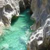 Vasques d'eau turquoise en Sierra de Guara