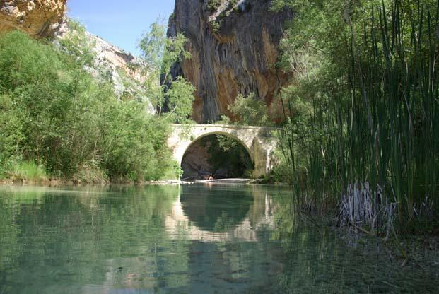 Pont romain de Villacantal près d'Alquezar