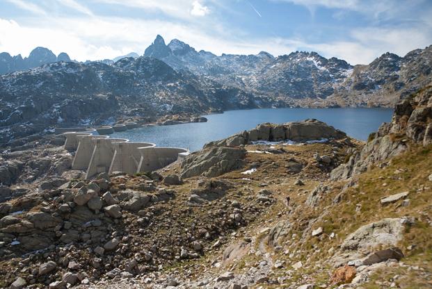 barrage du lac de Migouelou