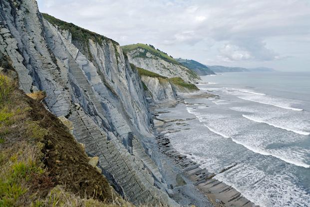 Falaises de la côte Basque - ©B.Jamorski