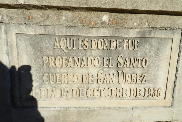 tombe de San Urbez à Nocito
