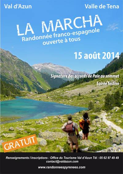 Participez à la Marcha le 15 août 2014 dans les Pyrénées