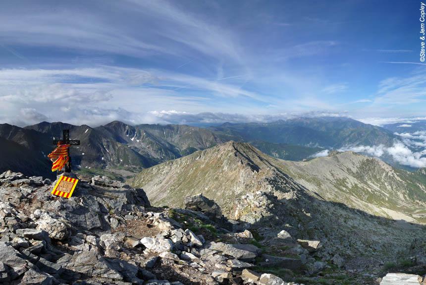 Vue depuis le sommet du Canigou