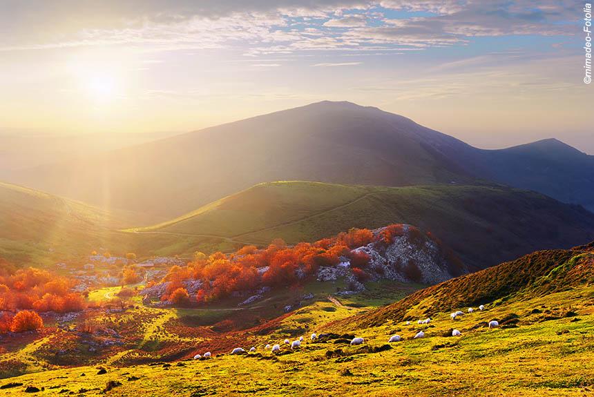 Pays Basque en automne ©mimadeo-Fotolia
