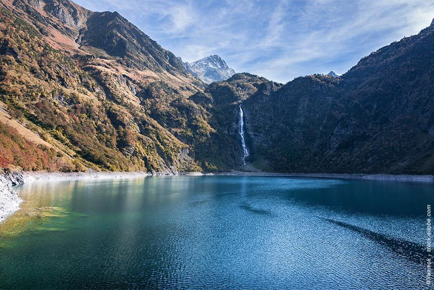 La vallée d'Oô et ses lacs : Oô, Espingo, Saussat